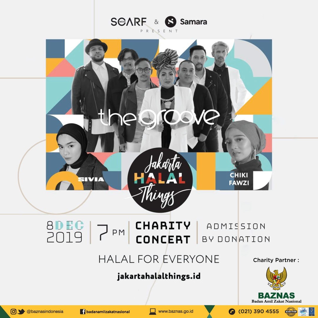 CHARITY CONCERT JAKARTA HALAL THINGS 2019